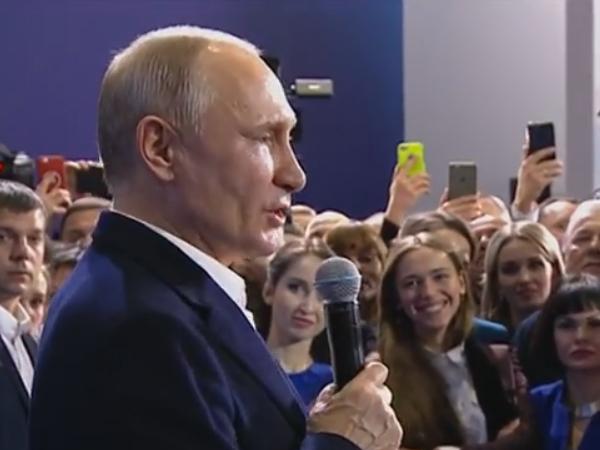 Путин: Я должен до 100 лет сидеть?