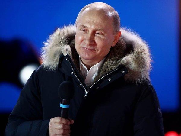 Трансляция. Результаты выборов президента РФ