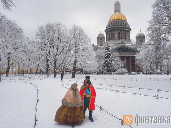 Весеннее равноденствие в Петербурге проходит по-зимнему
