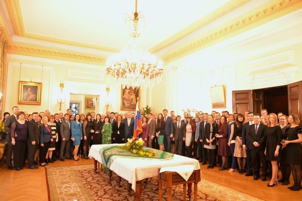 Перед высылкой российских дипломатов посольство устроило прощальный прием