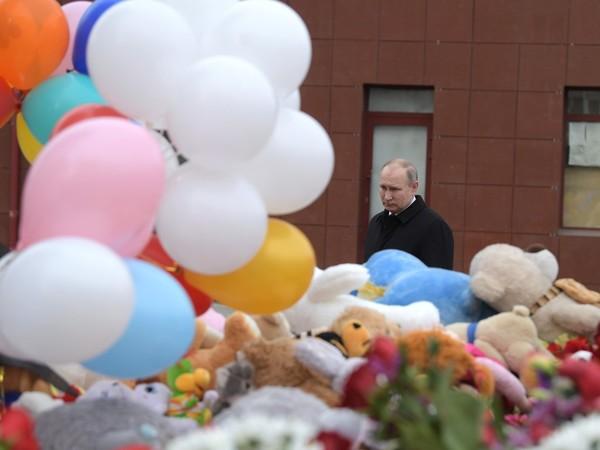 Путин в Кемерово: Теряем людей из-за преступной халатности и разгильдяйства