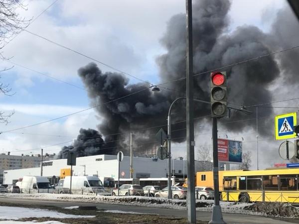 Пожару на Савушкина присвоили повышенный номер сложности