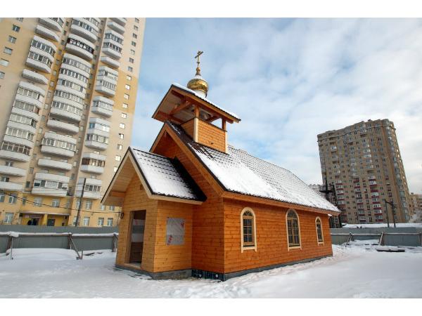 Православное строительство: новый храм в Шушарах