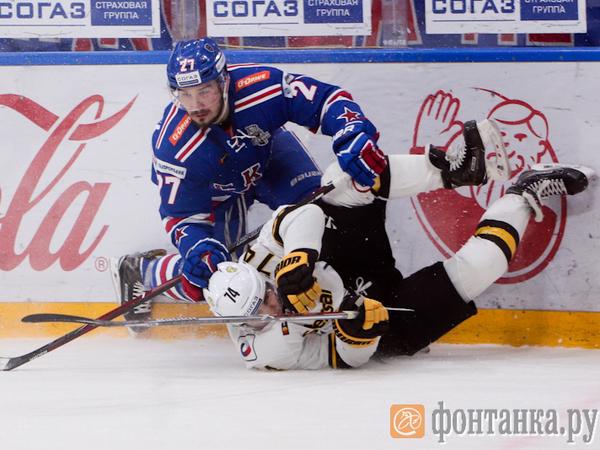 Гол Дацюка в овертайме принес СКА первую победу в плей-офф