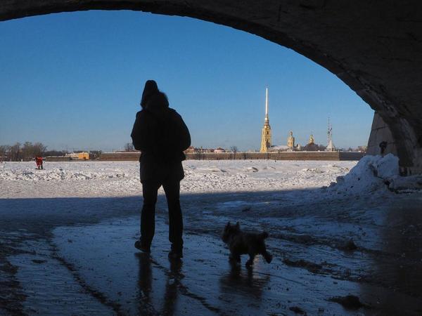 Февраль в Петербурге оказался холоднее, солнечнее и снежнее обычного