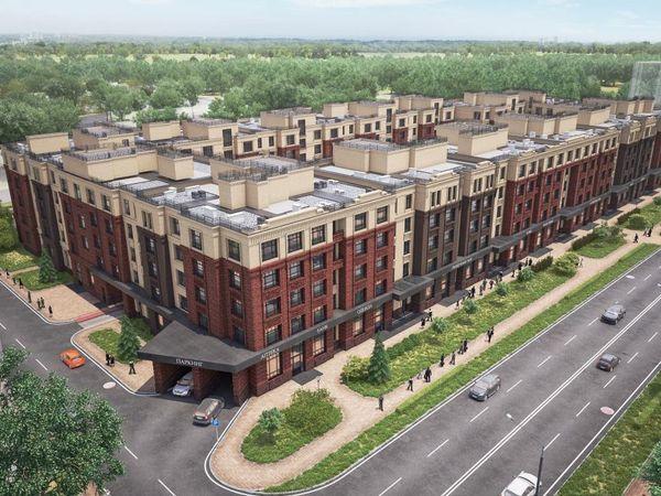 В ЖК «Сосновка» завершается строительство первого этажа