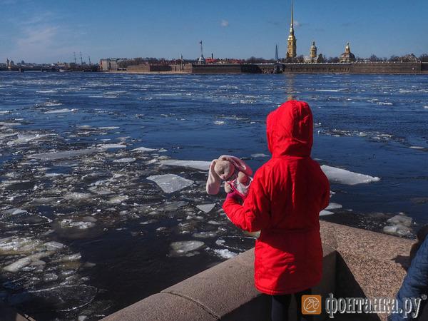 На Неве - ледоход
