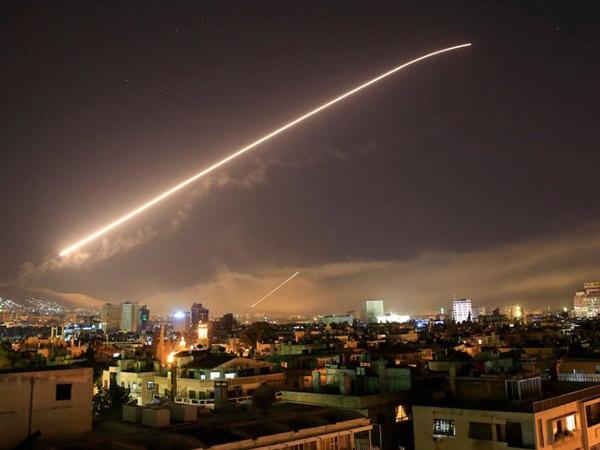 США нанесли удар по Сирии
