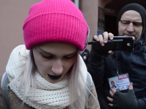 В Москве задержаны участники акции в защиту Telegram