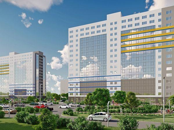 Комплекс апартаментов «WINGS на Крыленко» растет по этажу в месяц