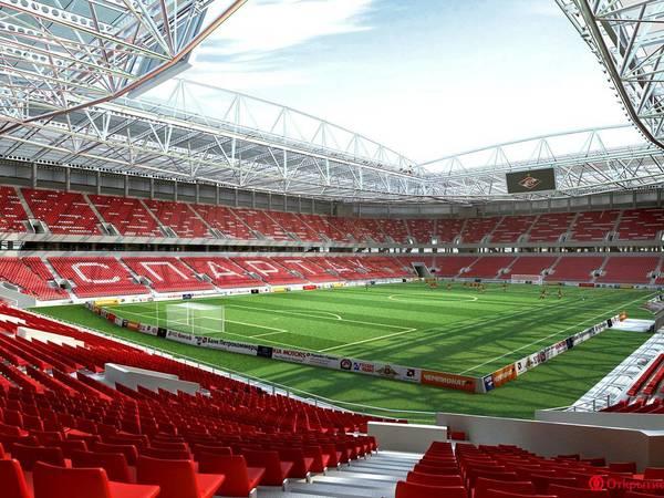 ФИФА обозвала арену «Санкт-Петербург» «Спартаком»