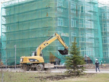 В «Образцовом квартале 3» начались фасадные работы