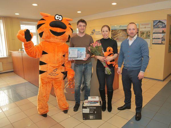 В Группе «Эталон» поздравили 3000-го покупателя с начала 2018 года