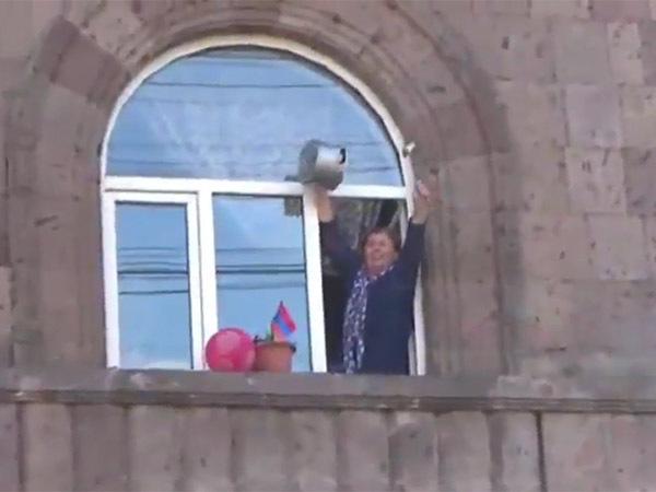 В Ереване продолжаются акции протеста