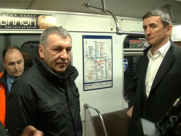 Пробный поезд проехал от «Приморской» до «Беговой»