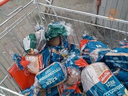 Петербуржцы снова уличили ретейлеров в выбрасывании хлеба