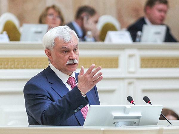 Полтавченко рассказал депутатам о вере