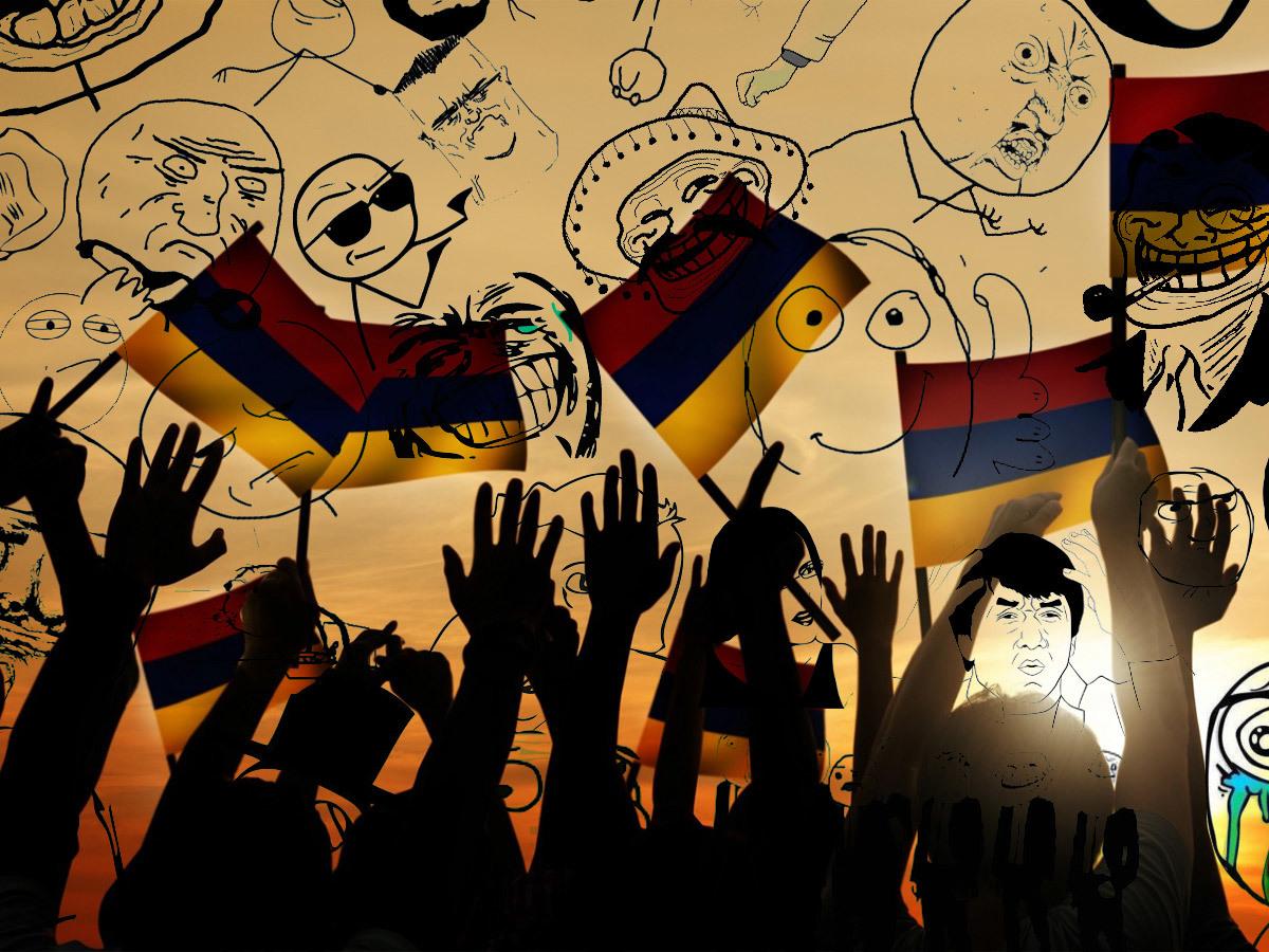 Мемы и перипетии Армянской революции