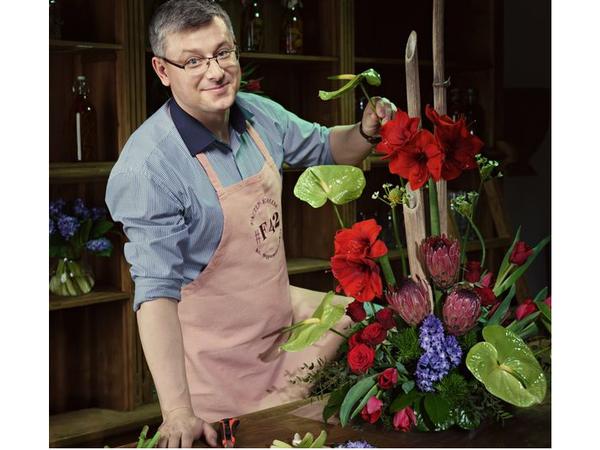 Фотосессия Flowers* F42 для известных людей Санкт-Петербурга