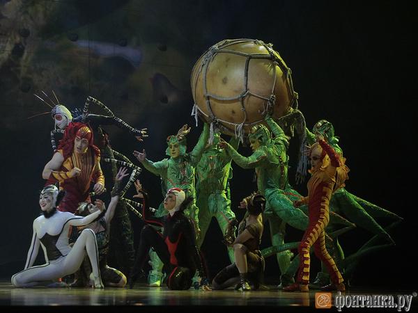 13 тонн оборудования: как выглядит Cirque du Soleil из-за кулис
