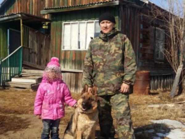 Немецкая овчарка вывела из лесотундры якутскую девочку