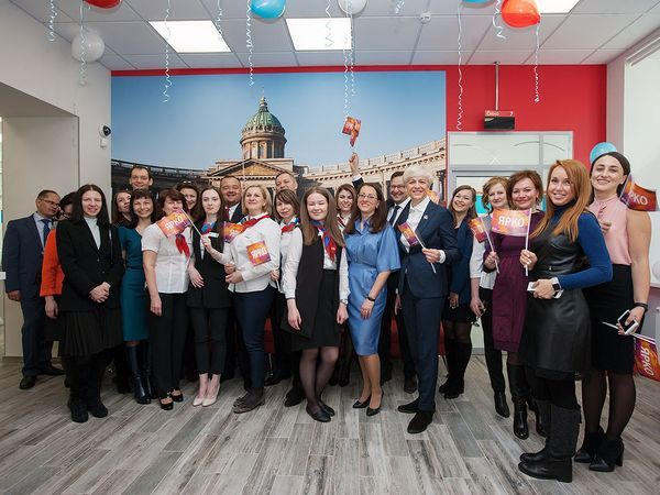 Открытие нового офиса Банка «Санкт-Петербург» «На Чернышевской»