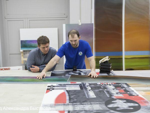 «Новокрестовскую» и «Беговую» впервые оформят панелями с 3D-анимацией