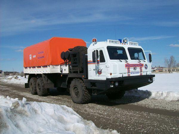 Концерн ВКО «Алмаз – Антей» создал арктический вездеход для МЧС