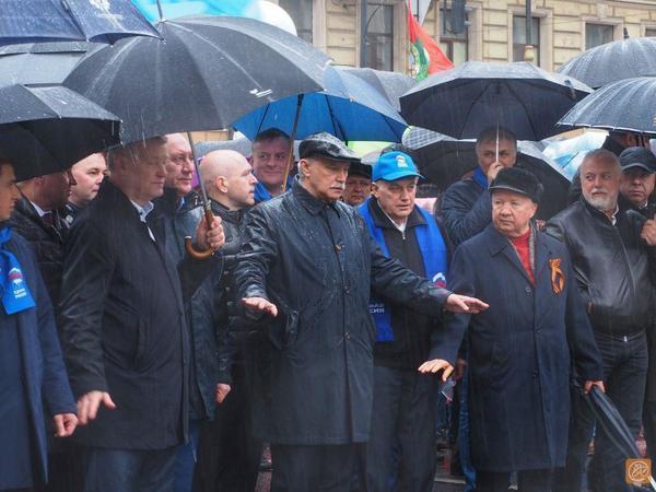 В Петербурге началась Первомайская демонстрация