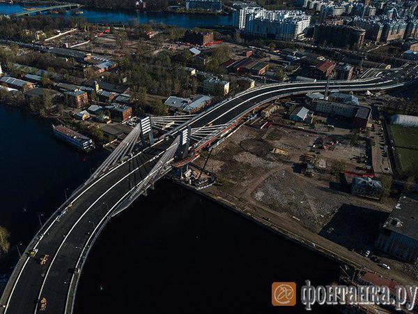 Мост Бетанкура откроют вПетербурге 13мая