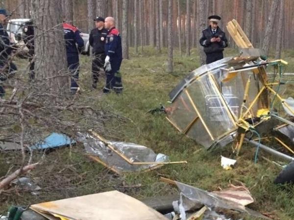 При падении самолёта в Ленобласти погиб петербуржец
