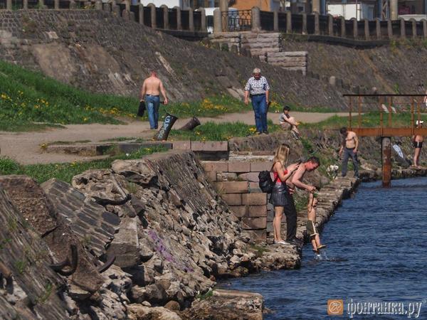 Петербург готовится побить температурный рекорд