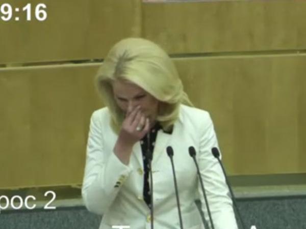 Голикова заплакала в Госдуме, покидая Счетную палату