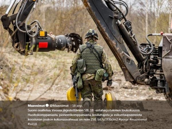 В Эстонии стартовали крупнейшие в истории страны военные учения