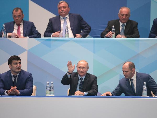 Путин приехал в Петербург на турнир по дзюдо в память о своем тренере