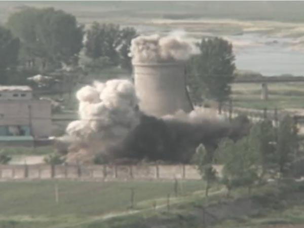 КНДР ликвидировала ядерный полигон