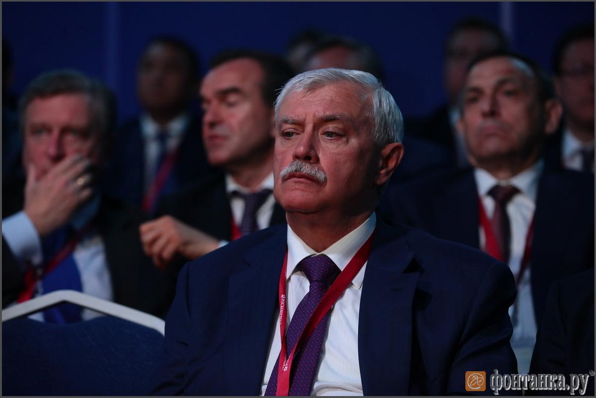 губернатор Петерубрга Георгий Полтавченко