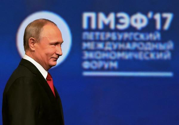 Это не я нездоров, это мировая экономика беременная цифровизацией— Путин