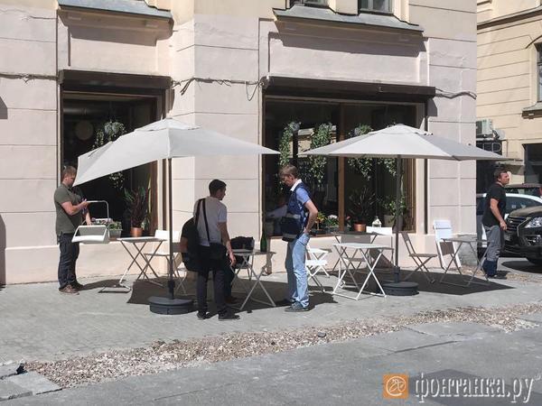 Смольный пригласил полицию для повторного сноса кафе на Рубинштейна
