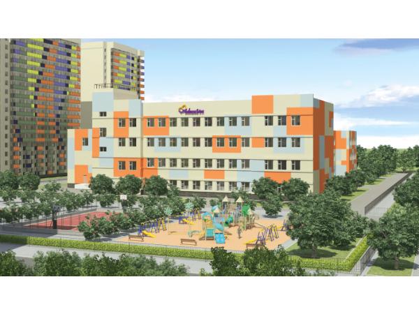 В ЖК «Краски лета» от «Полис Групп» будет построена школа