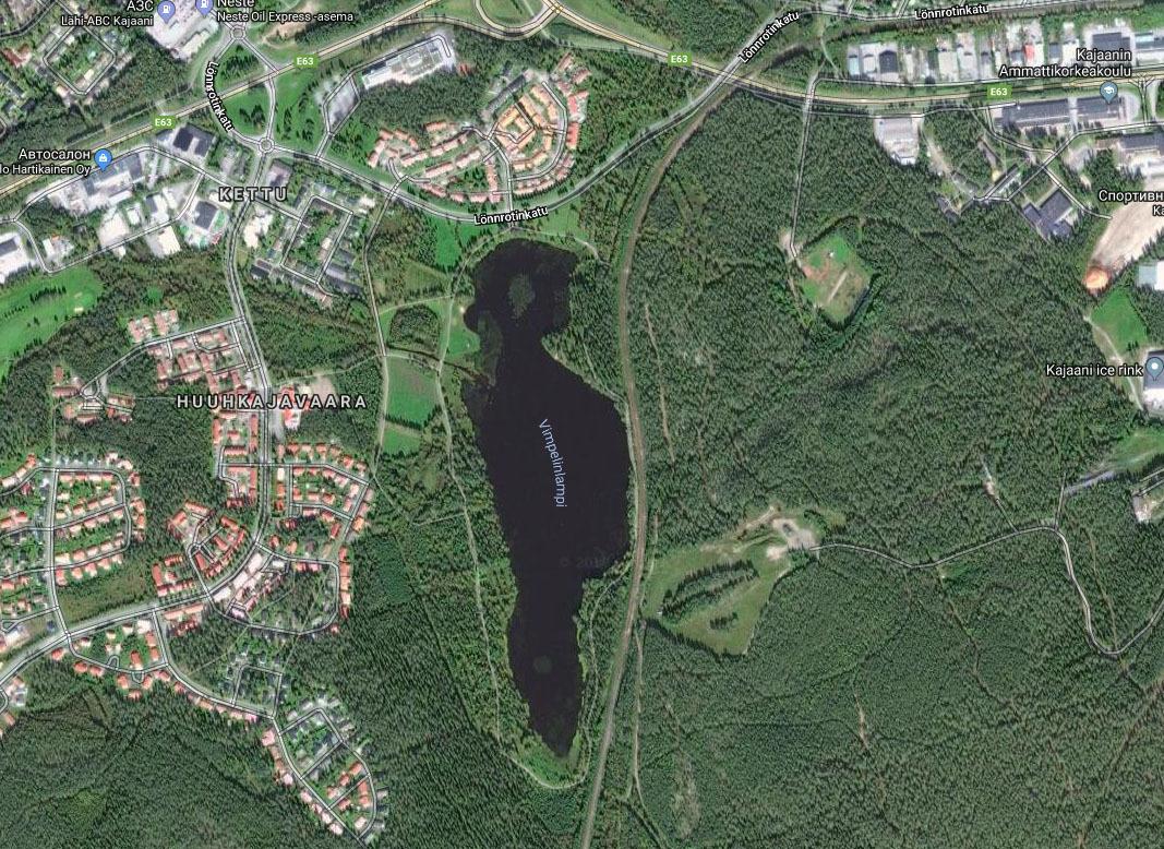 Озеро сочертаниями Трампа отыскали вФинляндии