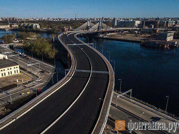 «Фонтанка» показывает мост Бетанкура с неба