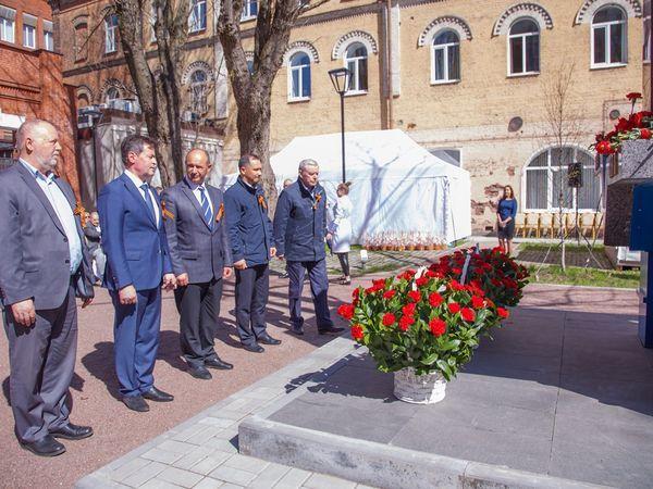 В преддверии Дня Победы на объектах Группы «Эталон» прошли памятные мероприятия