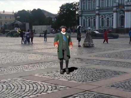 """Яндекс"" дополнил карту Петербурга огромной пышкой"