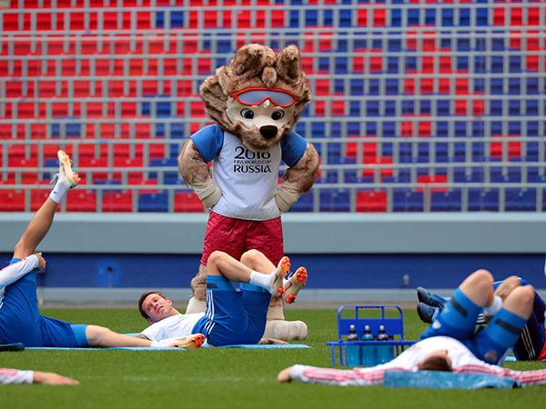 Светлое и теплое для сборной России