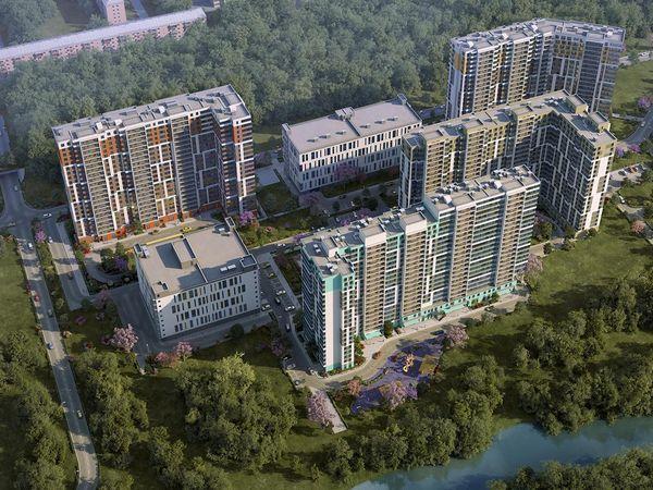 Группа «Эталон» начинает продажи квартир в ЖК «Охта Хаус»