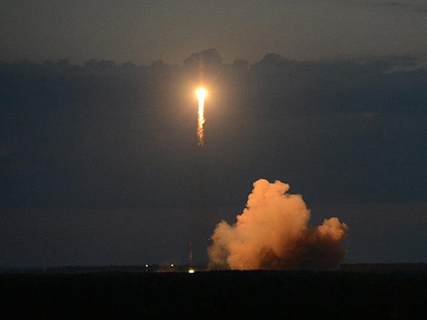 Минобороны показало запуск на орбиту спутника ГЛОНАСС