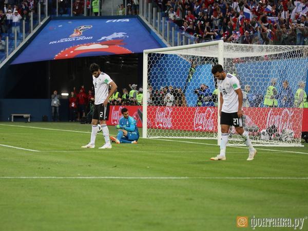 Россия забила еще два Египту