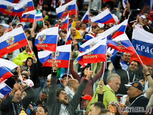 Россия двумя ногами в плей-офф