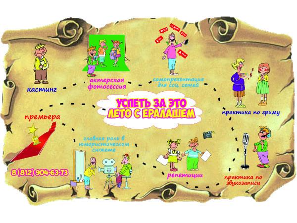 3 отличных идеи для летнего отдыха детей и подростков от Студии Ералаш